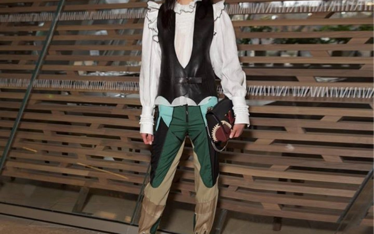 Guests at the Louis Vuitton Autumn-Winter 2016 Show