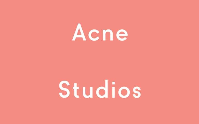 Acne Studios company logo