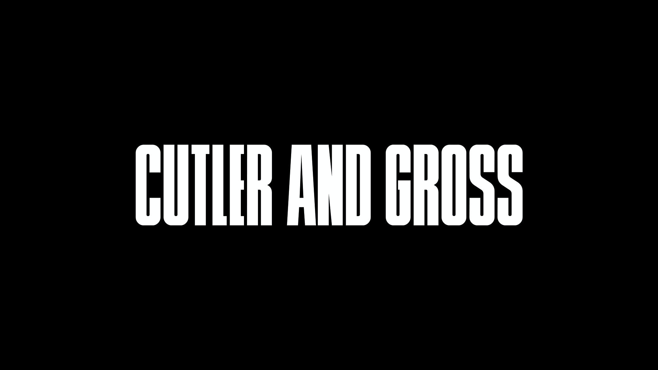 Cutler and Gross company logo