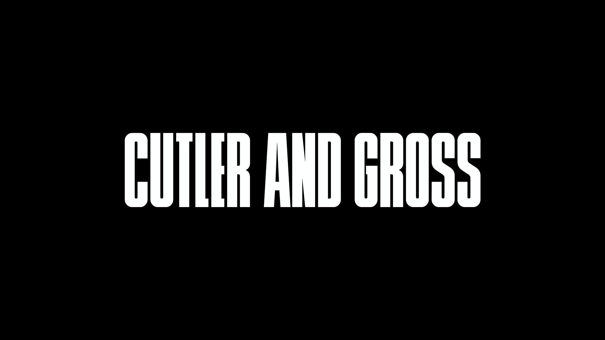 Cutler and Gross company logo