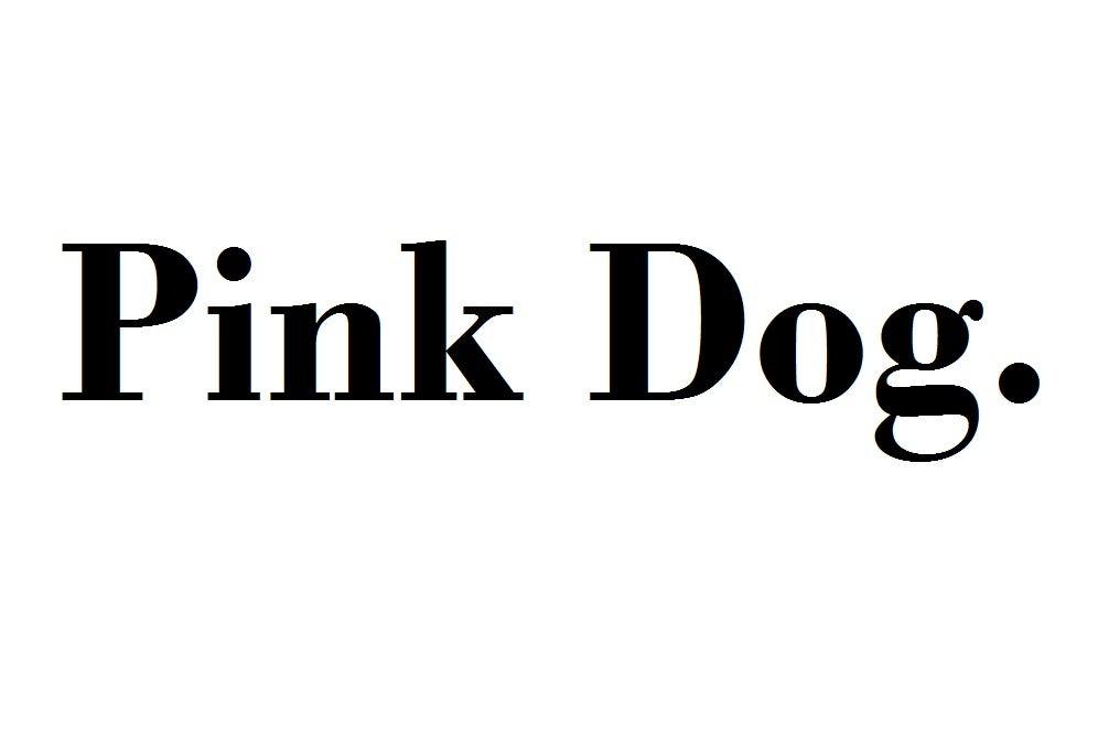 Pink Dog company logo
