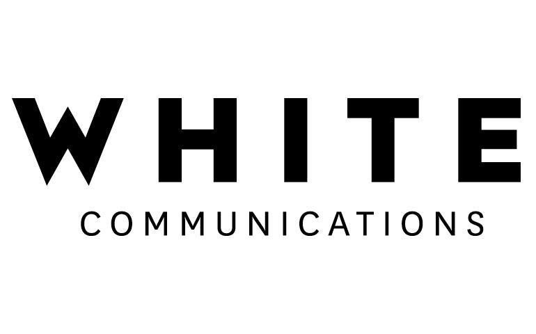 WHITE Communications company logo