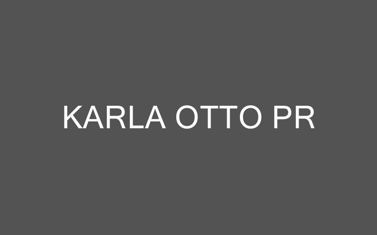 Karla Otto PR company logo
