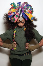 A piece from the Battle Royale collection by Littleshilpa