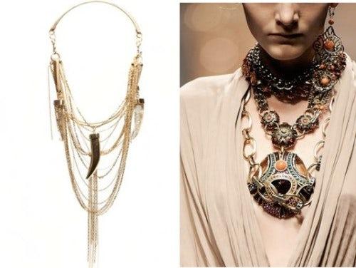 Donna Karan and Lanvin Jewelry