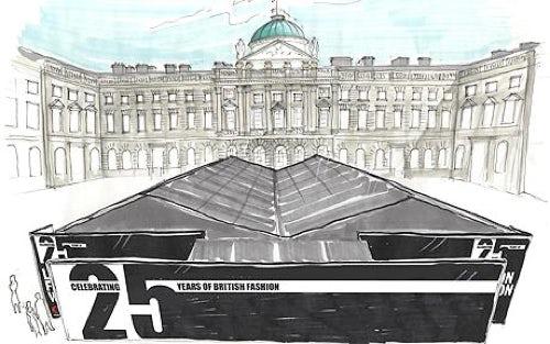 London Fashion Week at Somerset House | Source: BFC