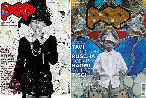 Tavi on the cover of Pop Magazine | Source: Pop Magazine