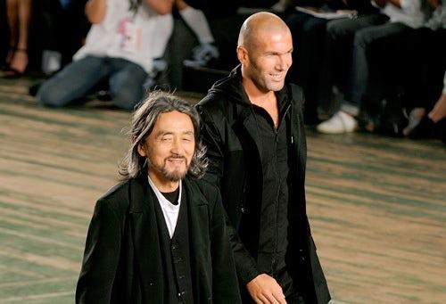 Yohji Yamamoto and Zinedine Zidane | Source: Coutorture