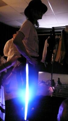 Michael Jackson Billie Jean Light-up outfit by Zaldy   Source: Zaldy Goco