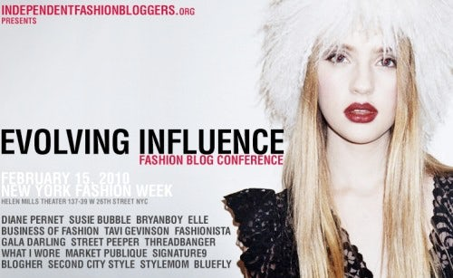 Evolving Influence Conference | Source: Independent Fashion Bloggers