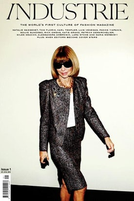 Anna Wintour Cover Page | Source: INDUSTRIE