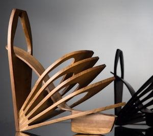 Wood Shoes | Source: Chau Har Lee