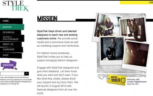 Style Trek Screenshot | Source: Style Trek