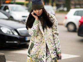Susie Bubble wearing wearing Keiko Nishiyama | Photo: Adam Katz Sinding