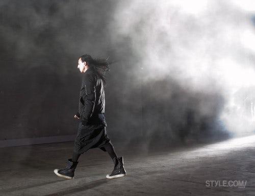 Rick Owens | Photo: Andreea Macri/Courtesy of Style.com