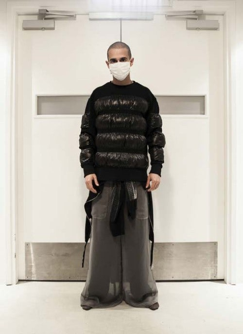 A look from Hood By Air's Fall/Winter 2013 collection   Source: Hood By Air