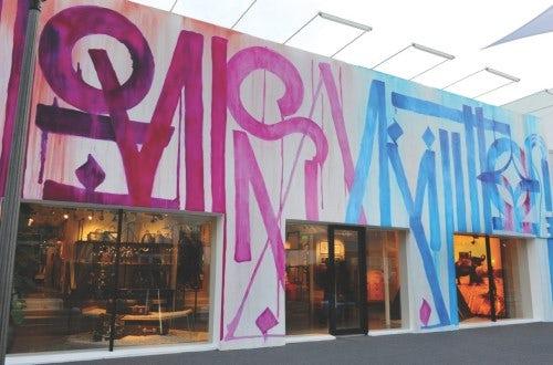 Louis Vuitton in the Miami Design District