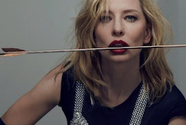 Cate Blanchett for 032c styled by Mel Ottenberg