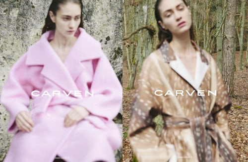 Carven Autumn/Winter 2013 Campaign