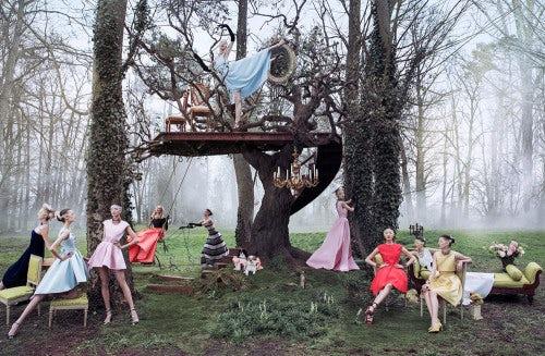 Dior 'Secret Garden 2' Autumn/Winter 2013 Campaign