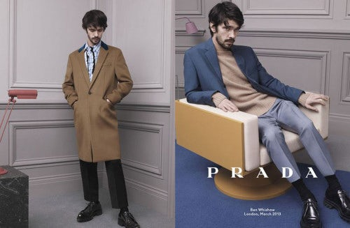 Prada Men's Autumn/Winter 2013 Campaign