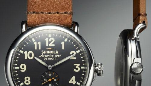 Shinola Runwell Watch   Source: Shinola