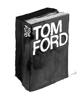 Tom Ford by Rizzoli | Illustration: Patrick Morgan for BoF