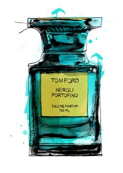Tom Ford Parfum | Illustration: Patrick Morgan for BoF