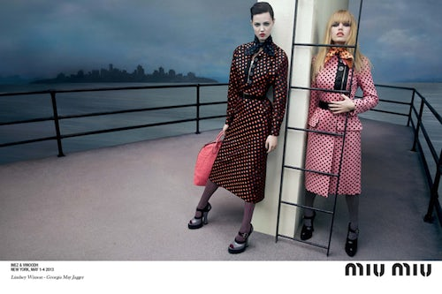 Miu Miu Autumn/Winter 2013 Campaign | Source: Miu Miu