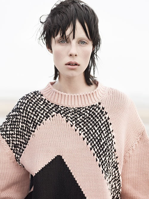 Edie Campbell for Vogue Paris | Photo: Karim Sadli