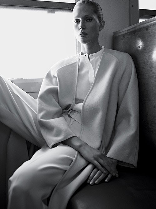 Iselin Steiro in T: The New York Times Style Magazine | Photo: Karim Sadli