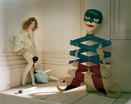 'Solder, Soldier Won't You Marry Me,' Vogue UK April 2008 | Photo: Tim Walker / Art + Commerce