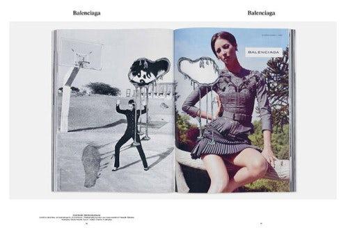 Christy Turlington for Balenciaga | Source: M to M of M/M (Paris)