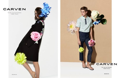 Carven Spring/Summer 2014 campaign