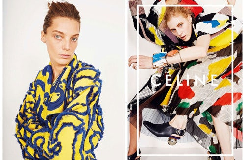 Celine Spring/Summer 2014 campaign