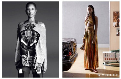 Givenchy Spring/Summer 2014 campaign