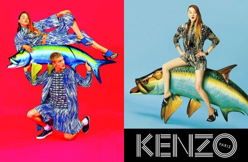 Kenzo Spring/Summer 2014 campaign