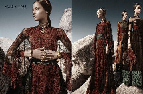 Valentino Spring/Summer 2014 campaign