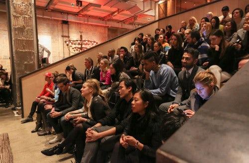 Audience at Neuehouse   Photo: Benjamin Lozovsky/BFAnyc.com