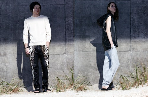 Baja East Autumn 2014 lookbook | Source: Baja East