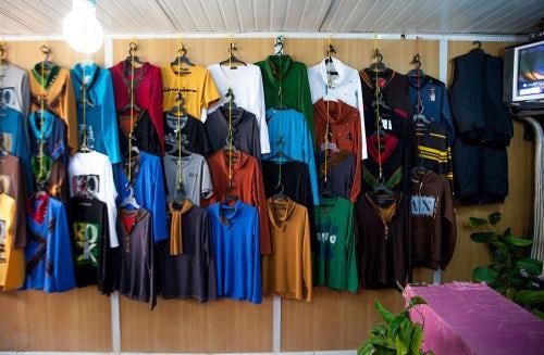 Abu Ala's spring collection   Photo: Dustin Mennie