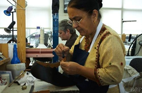 John Lobb craftspeople | Photo: Duane Nasis for BoF