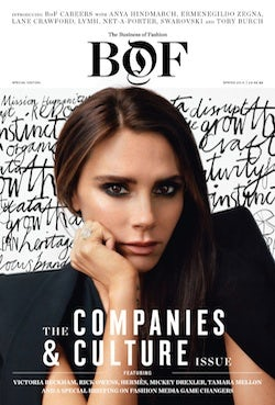 XYZ The Business of Fashion, The Companies & Culture Issue