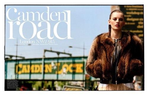 'Camden Road' for Vogue Paris August 2013 | Source: Vogue Paris