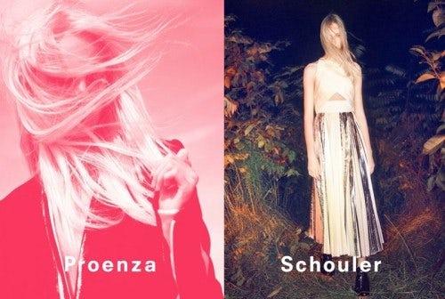 Proenza Schouler S/S 2014 campaign | Source: Proenza Schouler