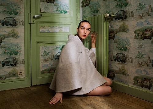 A design from Kenta Matsushige, winner of Hyères 2014 | Photo: Anna Orlowska
