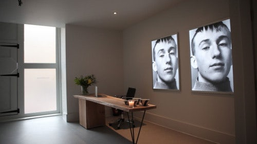JW Anderson office reception area | Source: The Business of Fashion