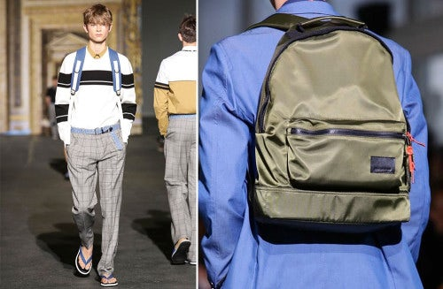 KRISVANASSCHE men's S/S 2015 | Source: Nowfashion.com