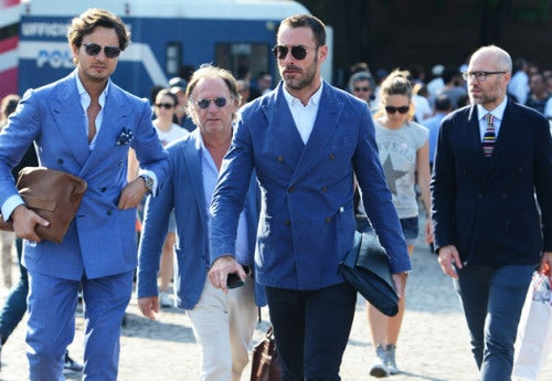 At Pitti Uomo in 2014   Photo: Tommy Ton