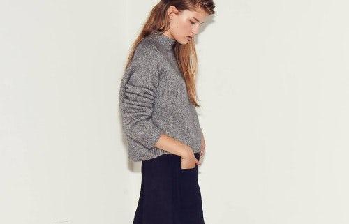 &Daughter mohair sweater | Source: &Daughter